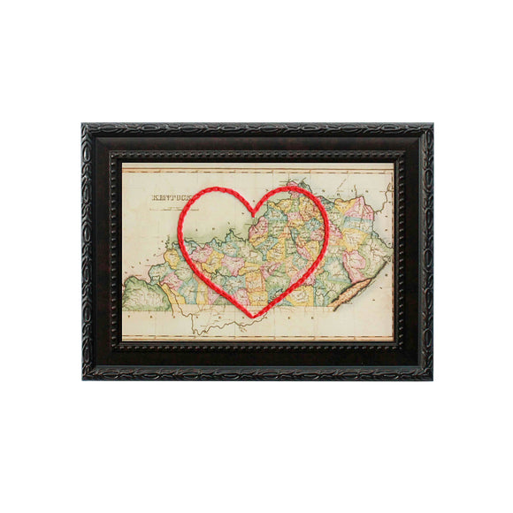 Kentucky Heart Map