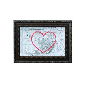 Kingston, ON Heart Map