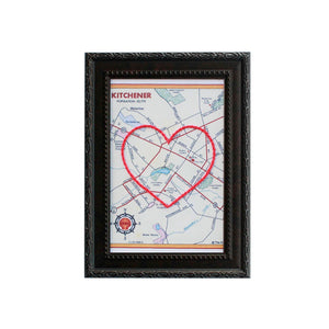 Kitchener Heart Map