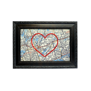 Lakefield Heart Map