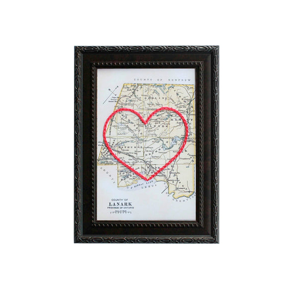 Lanark County Heart Map