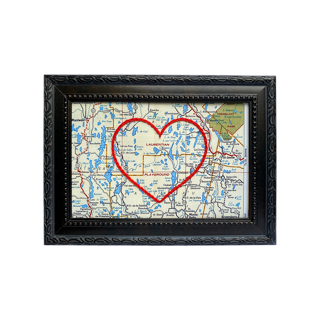 The Laurentians Heart Map