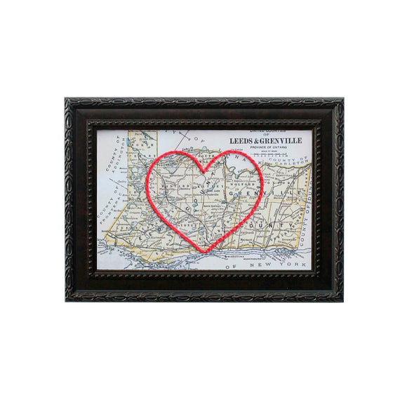 Leeds & Grenville County Heart Map
