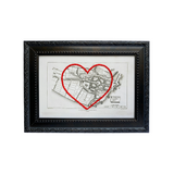 Londonderry Heart Map