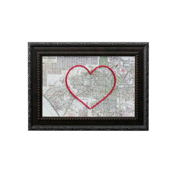 Los Angeles Heart Map
