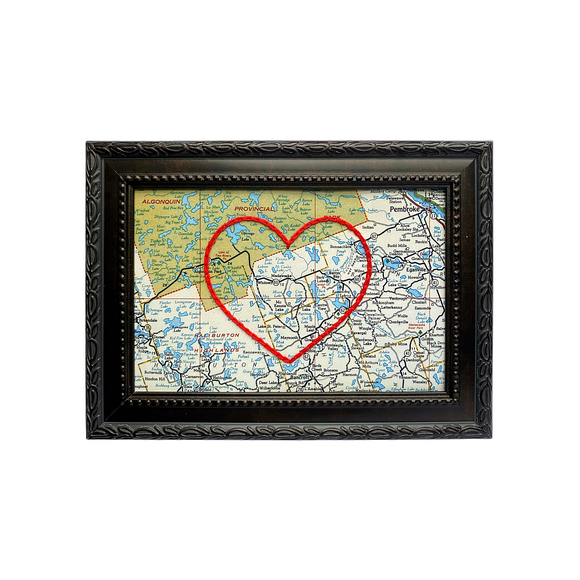 Madawaska Heart Map