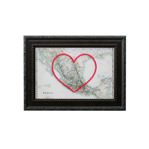 Mexico Heart Map
