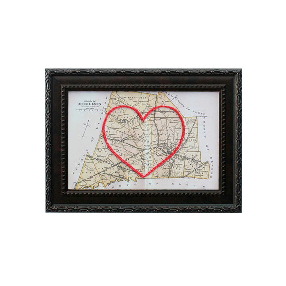 Middlesex County Heart Map