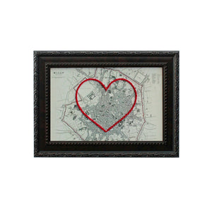 Milan Heart Map