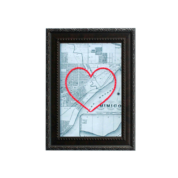 Mimico Heart Map