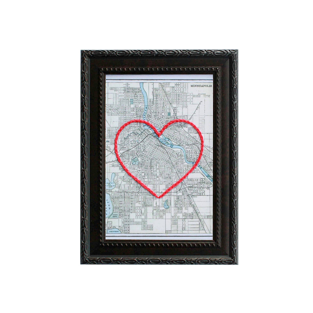 Minneapolis Heart Map