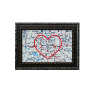 Moose Jaw Heart Map