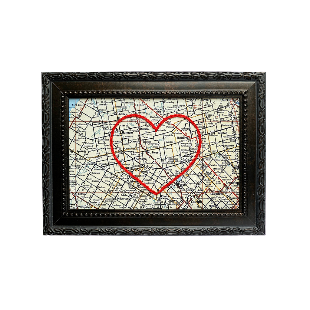Mount Forest Heart Map
