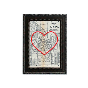 Napa Heart Map