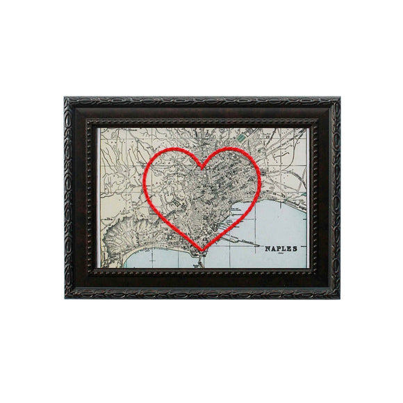 Naples Heart Map