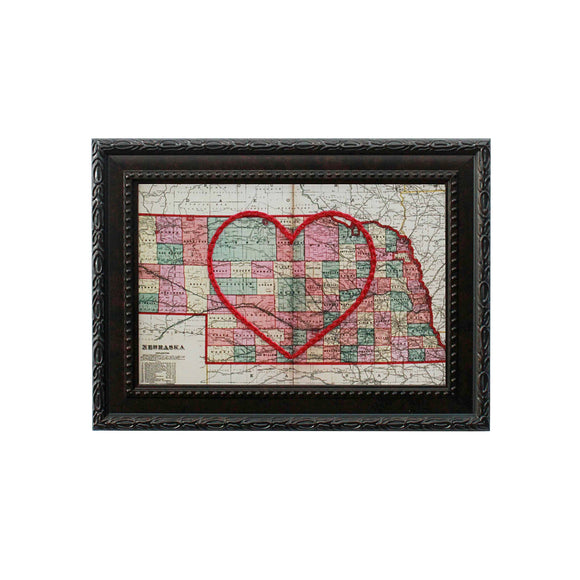 Nebraska Heart Map