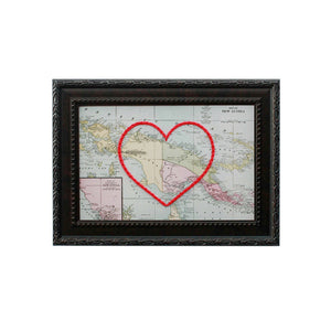 New Guinea Heart Map