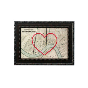 New Orleans Heart Map