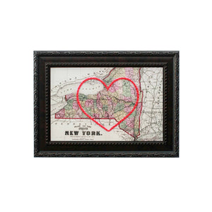 New York Heart Map