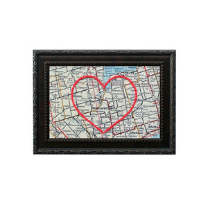 Newmarket Heart Map