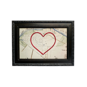 Niagara-on-the-Lake Heart Map