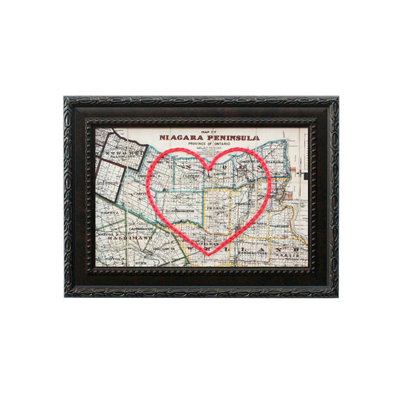 Niagara Peninsula Heart Map