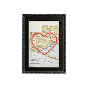 Norfolk County Heart Map