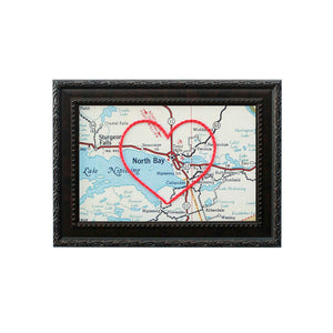 North Bay Heart Map