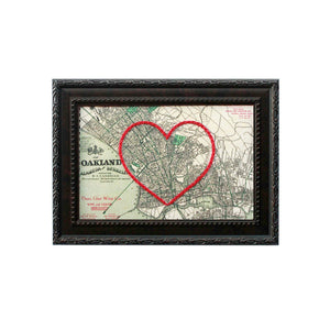 Oakland Heart Map