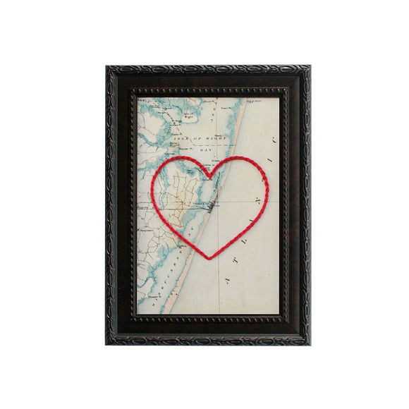 Ocean City, MD Heart Map