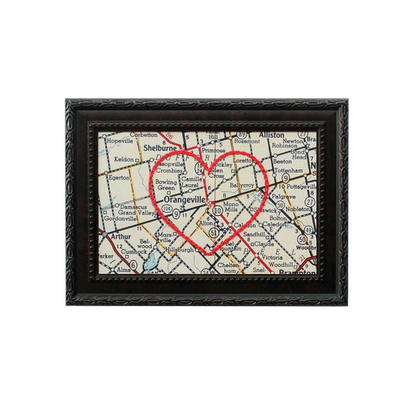 Orangeville Heart Map