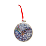 Ottawa Map Ornament