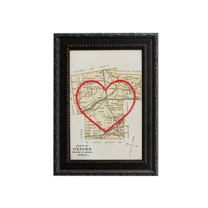 Oxford County Heart Map