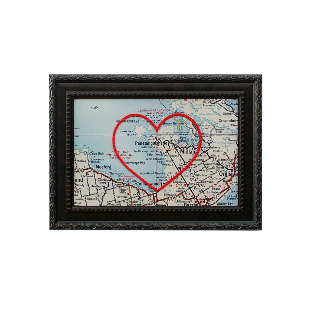 Penetanguishene Heart Map