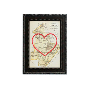 Perth County Heart Map