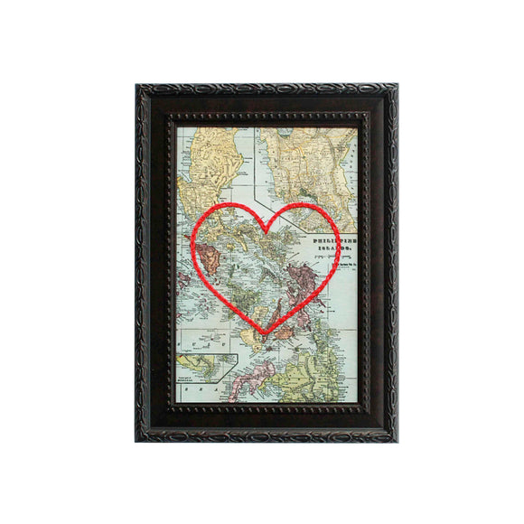 Philippines Heart Map