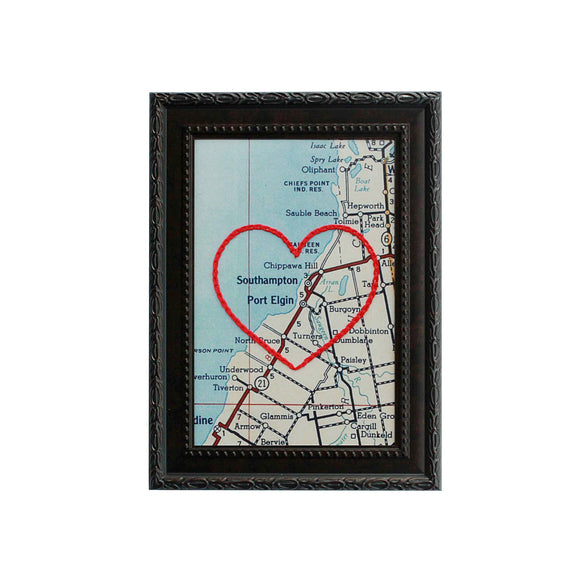 Port Elgin Heart Map