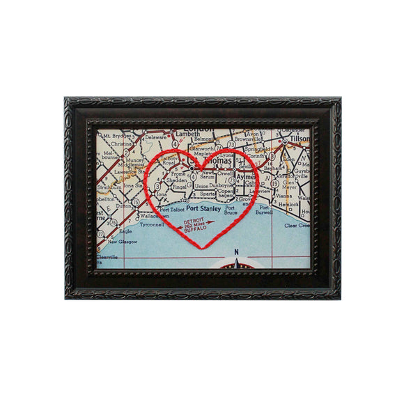 Port Stanley Heart Map