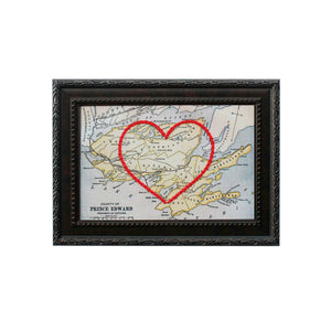 Prince Edward County Heart Map
