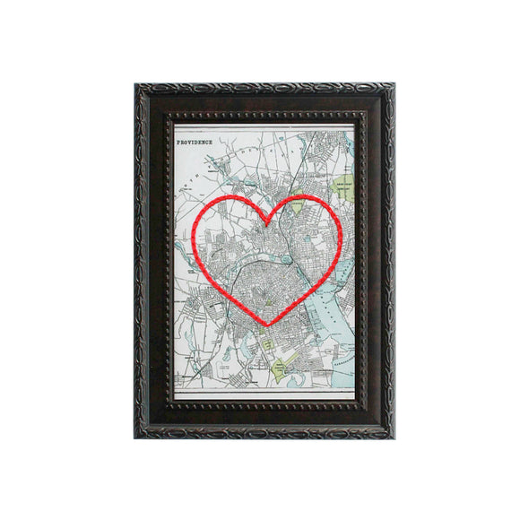 Providence, RI Heart Map