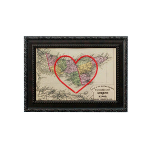 Queens & Kings Counties, PEI Heart Map