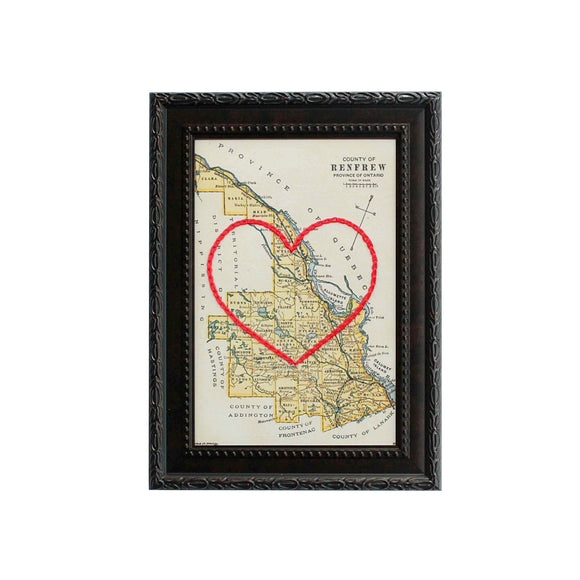 Renfrew County Heart Map