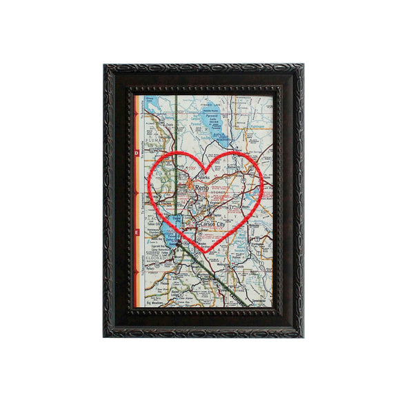 Reno / Carson City Heart Map