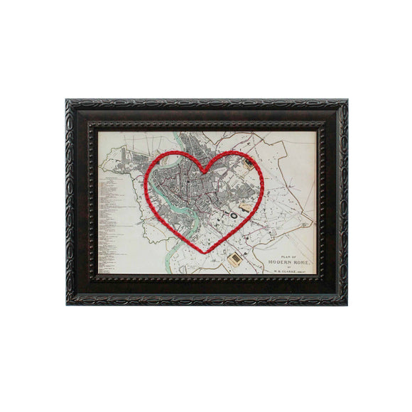 Rome Heart Map