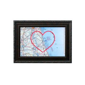 St. Augustine Heart Map