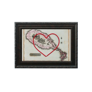 Saint Kitts Heart Map