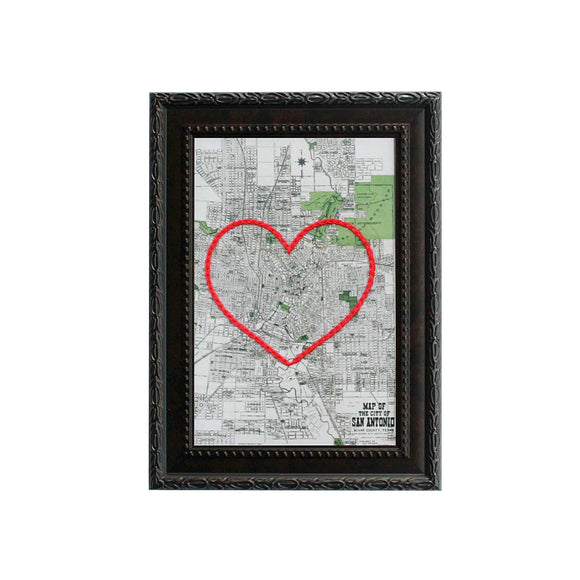 San Antonio Heart Map