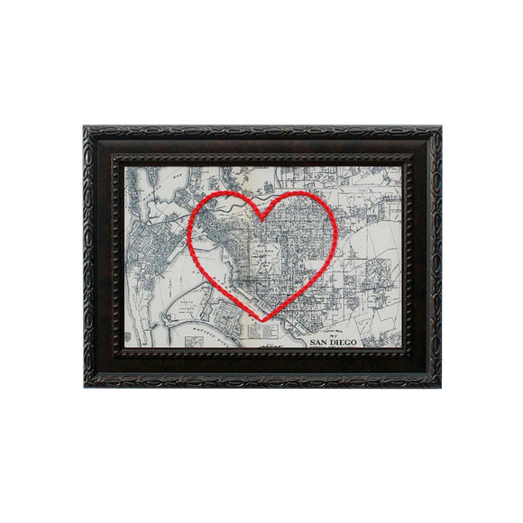 San Diego Heart Map