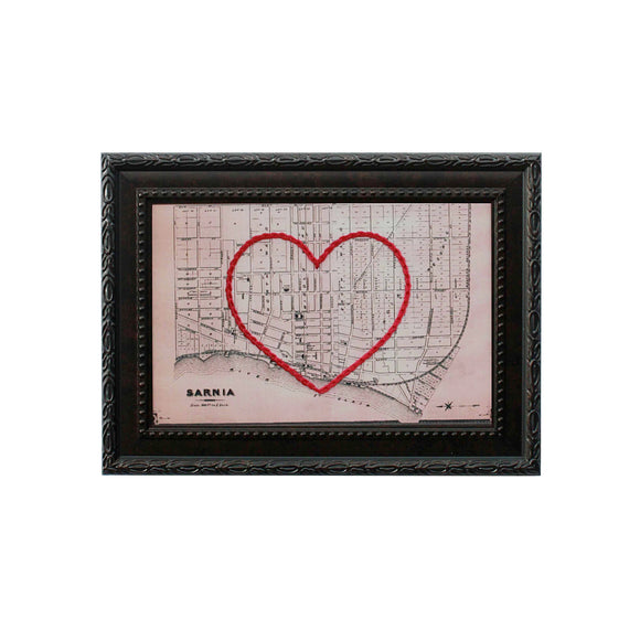 Sarnia Heart Map