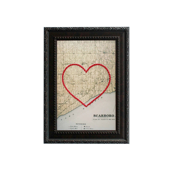 Scarborough Heart Map